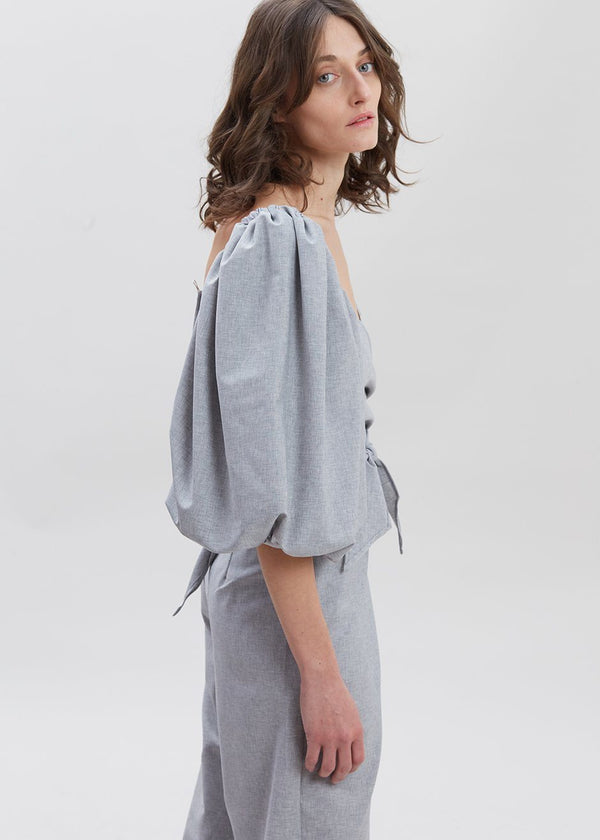 Jasper Top by Shaina Mote in Heather Grey Top Shaina Mote