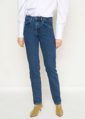 Just Female Blue Denim Stone Jeans Jeans Just Female