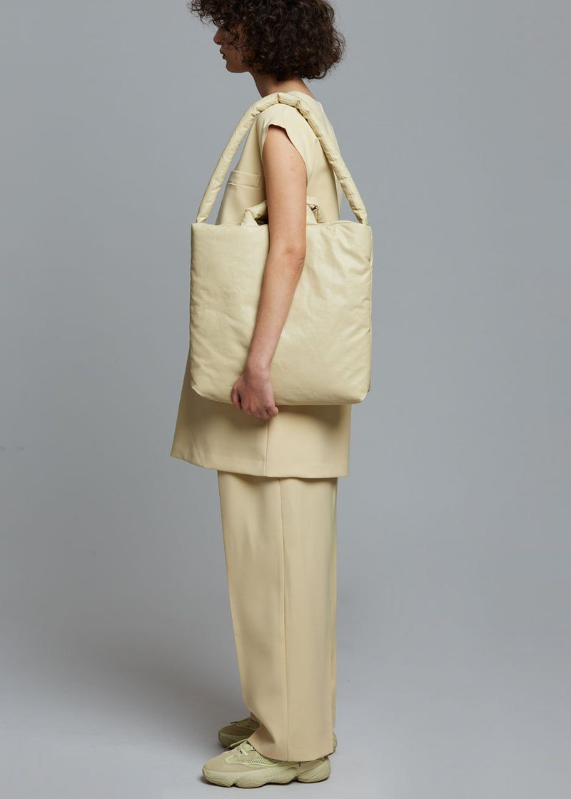 KASSL Editions Oil Medium Tote Bag - Sand Bag KASSL Editions