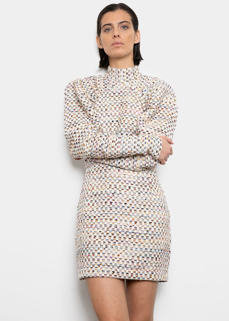 Kim Dress by ROTATE- True Blue Comb Dress Rotate