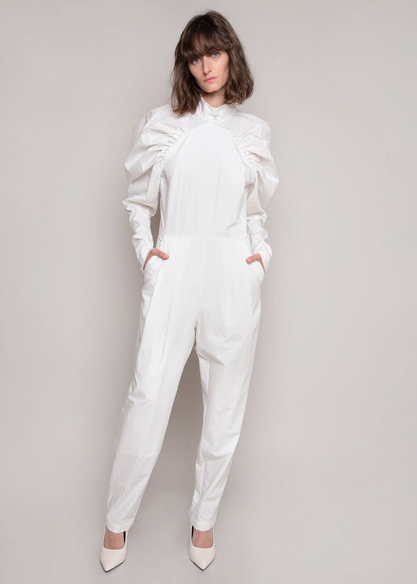 Kim Pantsuit by ROTATE in Snow White Jumpsuit Rotate