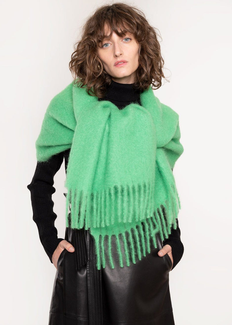 Lajos Scarf by Rodebjer in Emerald Green Scarf Rodebjer