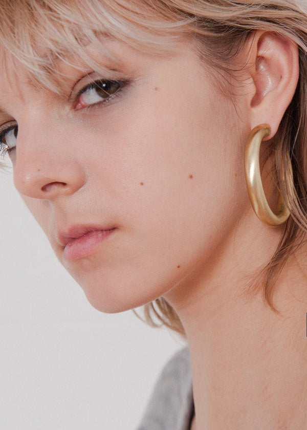 Laura Lombardi Curve Earrings Jewelry Laura Lombardi