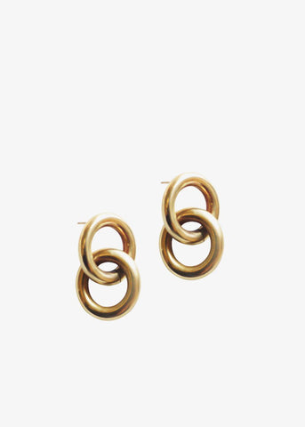 Laura Lombardi Link Earrings Earrings Laura Lombardi