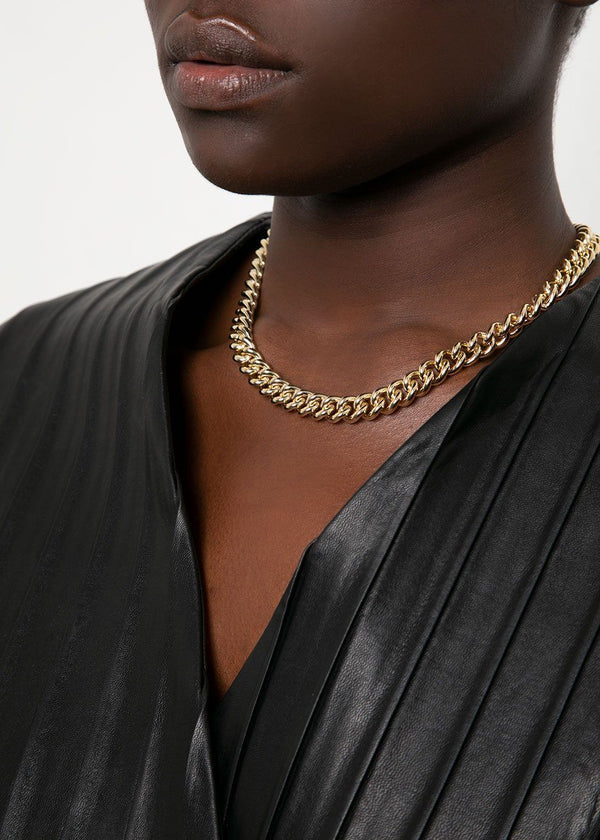 Laura Lombardi Presa Gold Chain Necklace Jewelry Laura Lombardi