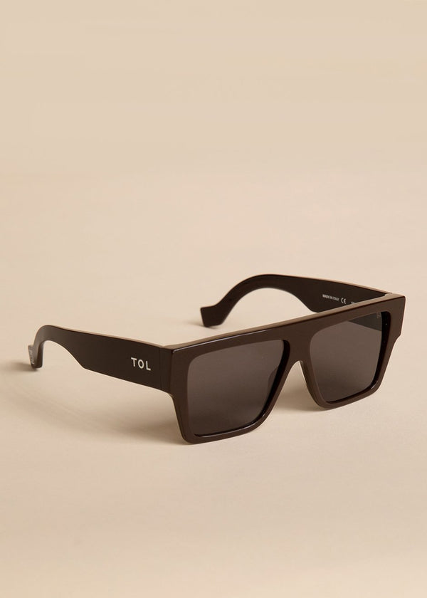 Lazer Sunglasses by TOL Eyewear in Pure Chocolat Sunglasses TOL Eyewear
