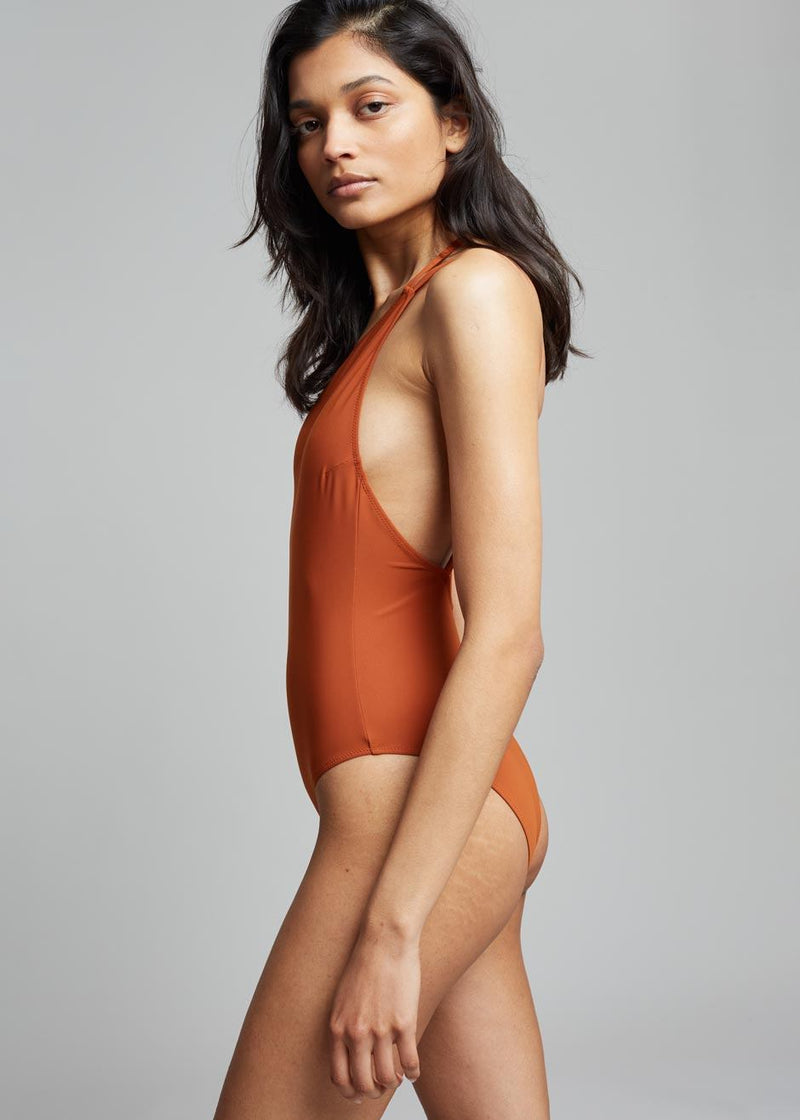 Lido Quindici Swimsuit - Terracotta swimsuit Lido