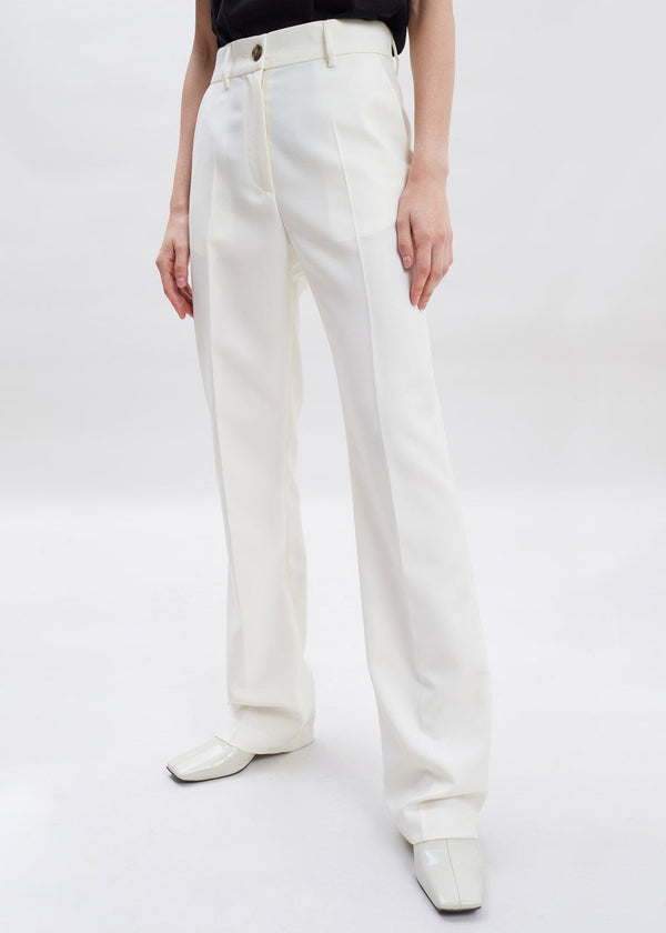 Marla Suit Pants by Covert in Ivory Pants Covert