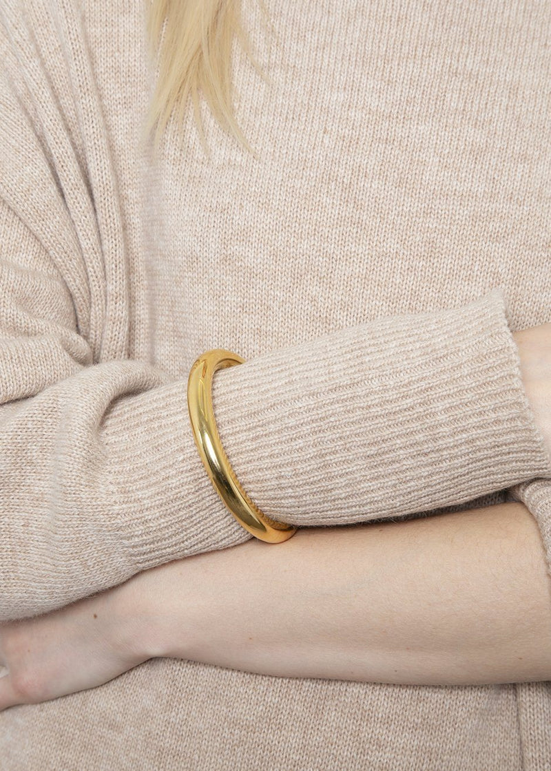 Medium Aura Cuff by Gabriela Artigas- Yellow Gold Plated Bracelet Gabriela Artigas