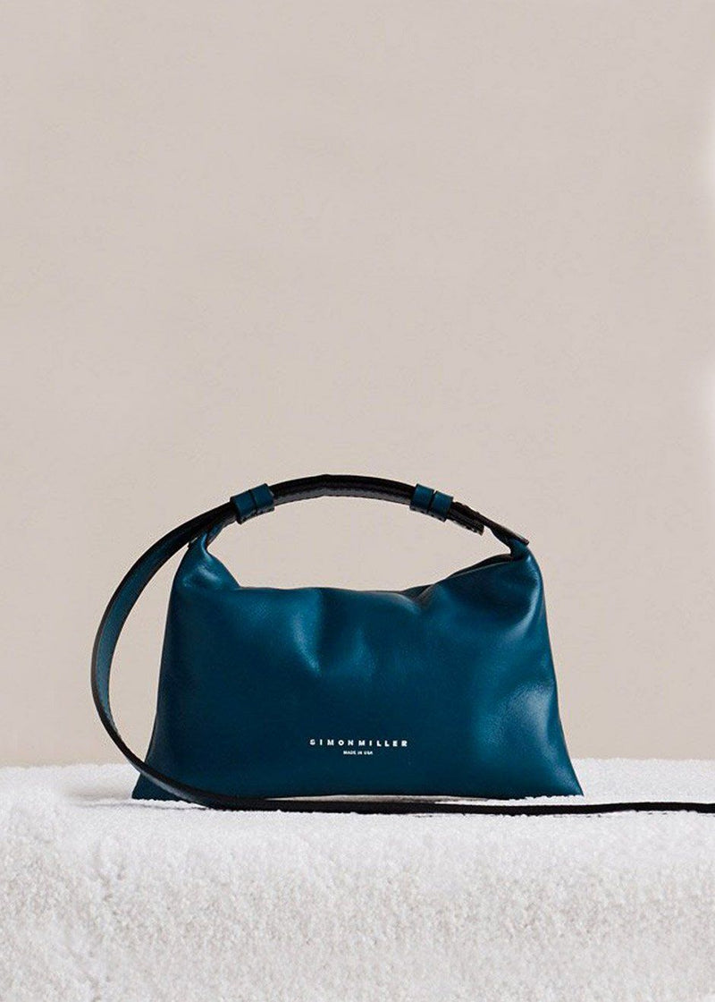 Mini Puffin Bag by Simon Miller in Octane Teal Bag Simon Miller