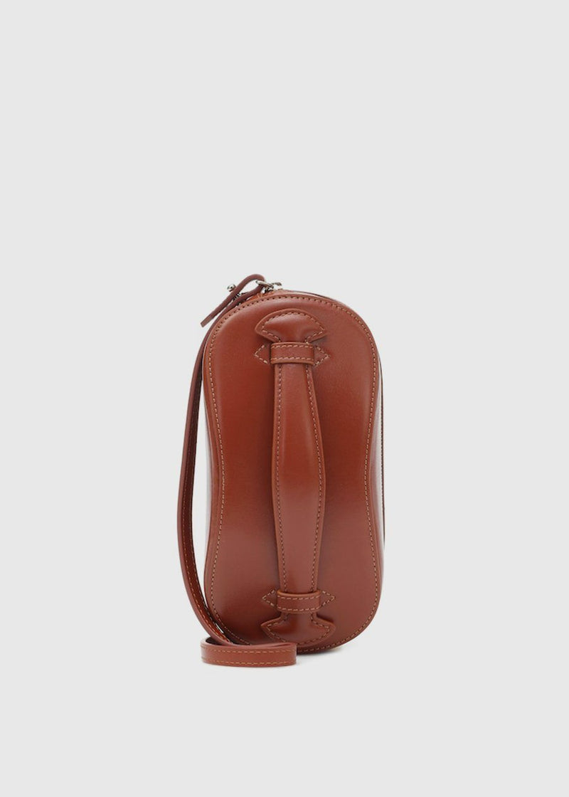 Mini Structure Bag by Low Classic in Red Brown Bag Low Classic