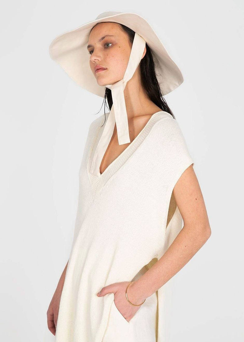 Mirage Cotton Sunhat by Rus- Chalk Hat Rus the Brand