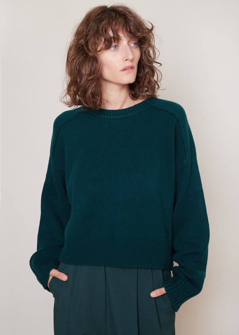 New Bruzzi Sweater by Loulou Studio in Green Sweater Loulou Studio