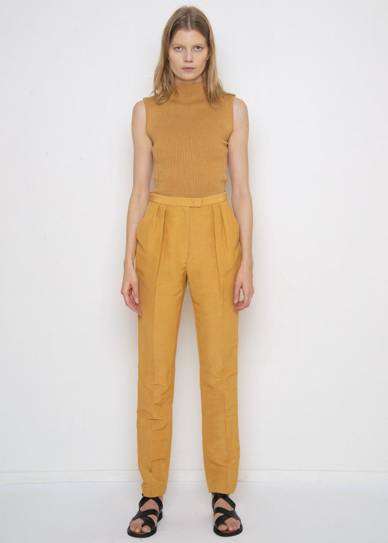New Joust Pants in Gold by Rachel Comey Pants Rachel Comey