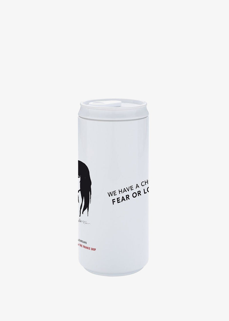 No More Plastic x The Frankie Shop Eco Can- Exclusive Artwork by Irina Lazareanu & William Klein Living Nomoreplastic