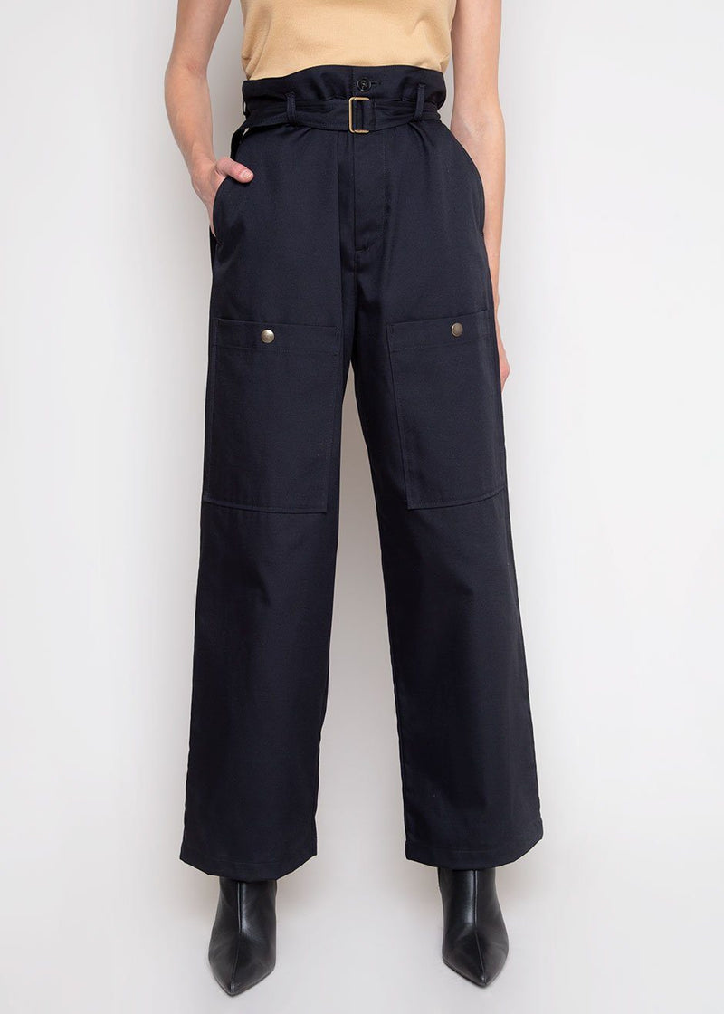 Nola Snap Pocket Trousers by Covert in Navy Pants Covert