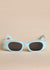 Oblong Sunglasses by TOL Eyewear in Mint Sunglasses TOL Eyewear