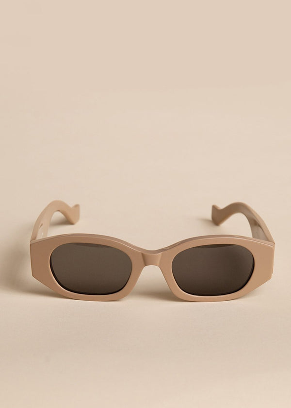 Oblong Sunglasses by TOL Eyewear in Nude Sunglasses TOL Eyewear