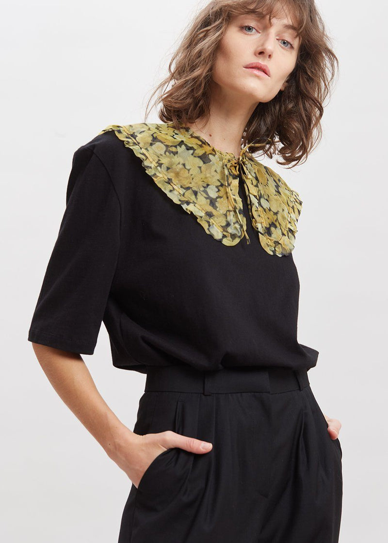 Organza Collar by GANNI in Flan Collar Ganni