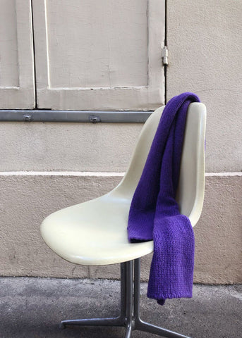 Paloma Wool Caos Scarf in Purple Scarf Paloma Wool
