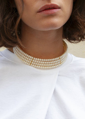 Pearl Choker by Timeless Pearly Necklace Timeless Pearly