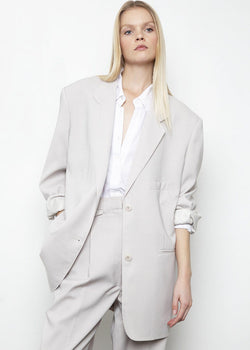 Pernille Boy Blazer in Grey Blazer More than Yesterday