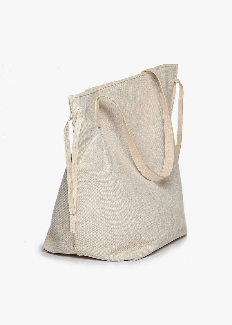 Philippine Large Minimal Shopper Tote by Aeron in Cream Bag Aeron