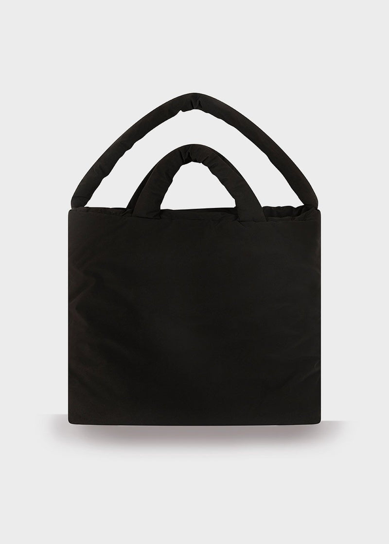 Pop Oil Large Tote Bag by KASSL Editions in Velvet Black Bag KASSL Editions