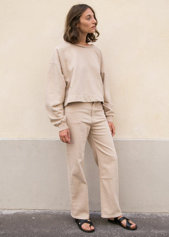 Rachel Comey Pennon Pants in Beige Denim Pants Rachel Comey