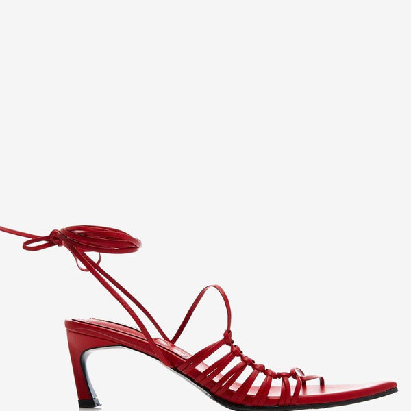 Reike Nen Pointy Lace-Up Sandals