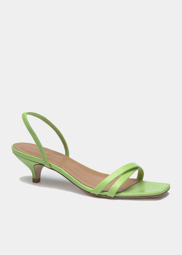 Ringo Sandal by Paloma Wool in Green Fluor Shoes Paloma Wool