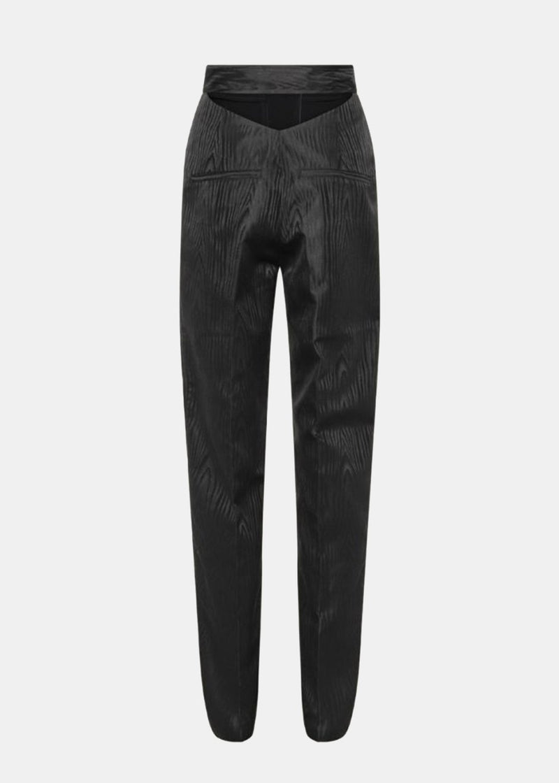 ROTATE Sia Belted Trousers in Black Pants Rotate