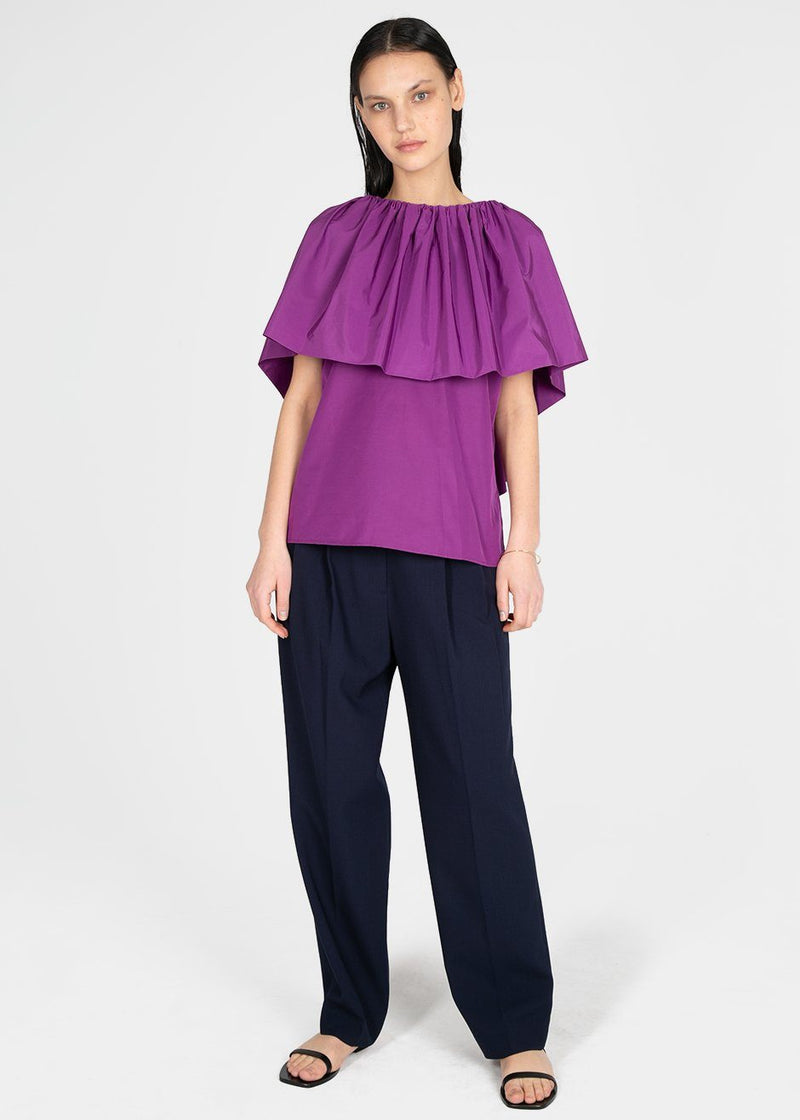 Ruffle Top by Ter et Bantine- Pink Top Ter et Bantine