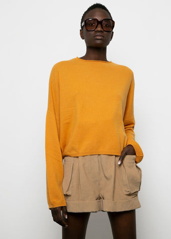 Safran Fakarava Cashmere Sweater by Loulou Studio Sweater loulou studio