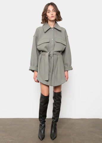 Sage Cargo Dress-Jacket Jacket Repeller