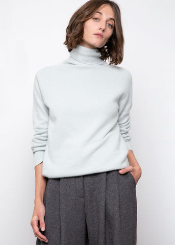 Seafoam Turtleneck Sweater Sweater BPlan