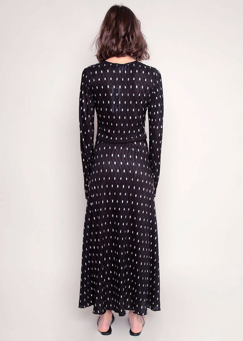 Sierra Dress by ROTATE in Black Dress Rotate