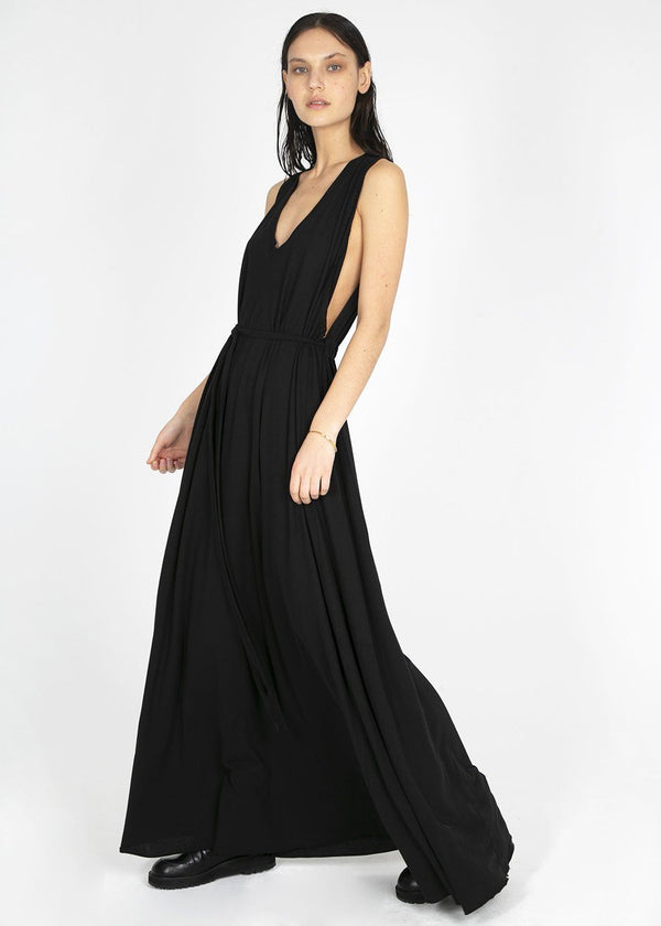 Sleeveless Maxi Dress by Covert- Black Dress Covert