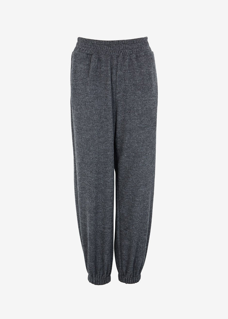 Slouchy Joggers in Asphalt pants The Frankie Shop