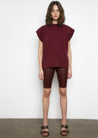 Snipe Leather Shorts by Remain Birger Christensen- Port Royale Shorts Remain