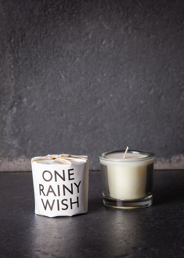 Tatine Tisane One Rainy Wish Votive Candle Candles Tatine