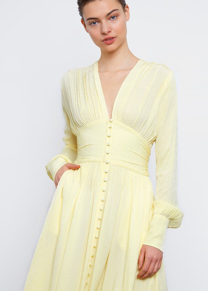 Tracy Long Dress by ROTATE- Limonade Dress Rotate
