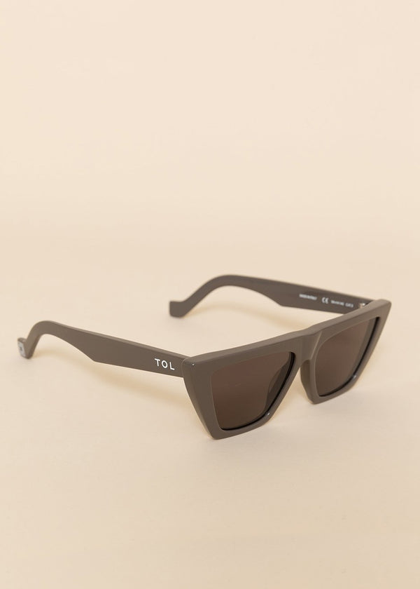 Trapezium Sunglasses by TOL Eyewear in Clay Sunglasses TOL Eyewear