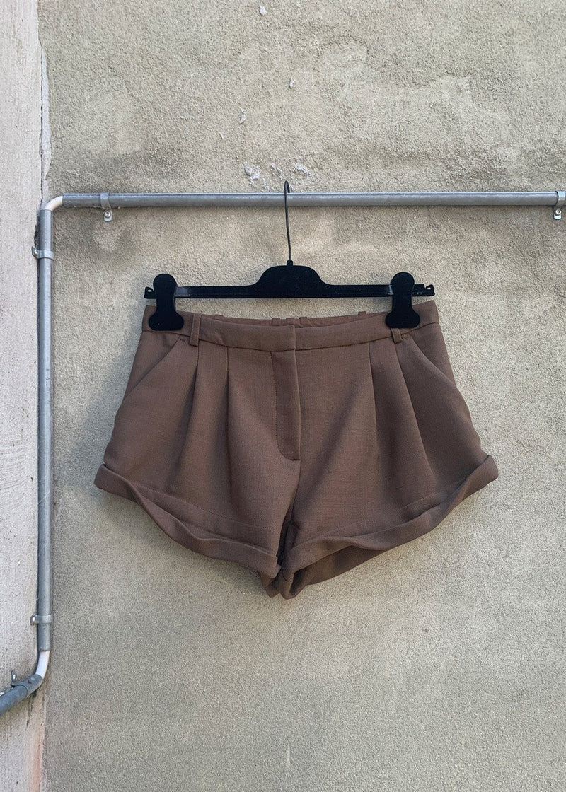 Wall Street Hotpants by The Garment in Brown Shorts The Garment