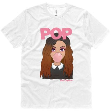 Pop Cartoon Tee (white)