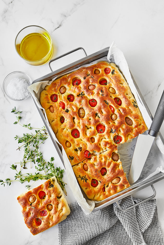 Easy Foccacia Bread