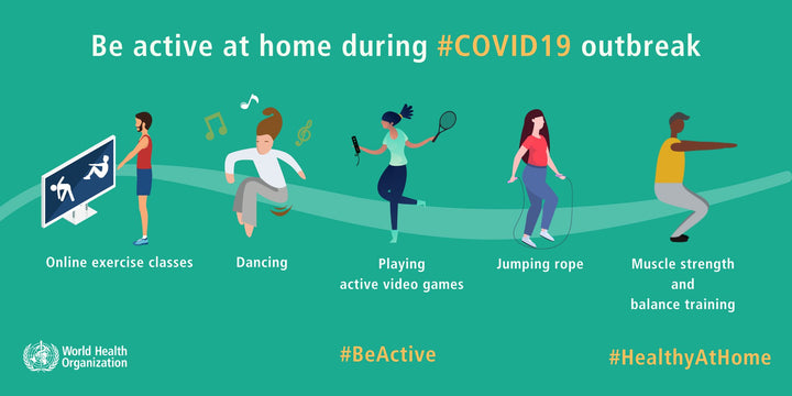 Exercise is Essential for Well-Being During COVID-19 Pandemic