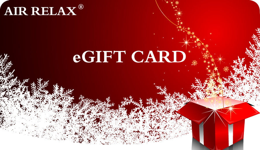EGIFT CARD - AIR RELAX RECOVERY SYSTEM - AIR RELAX