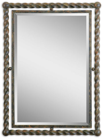 Garrick Wrought Iron Mirror