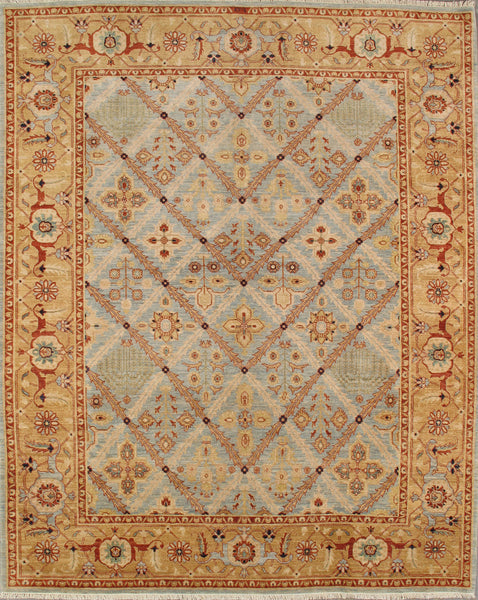 Hand-Knotted Bakhshayesh Lamb's Wool Area Rug